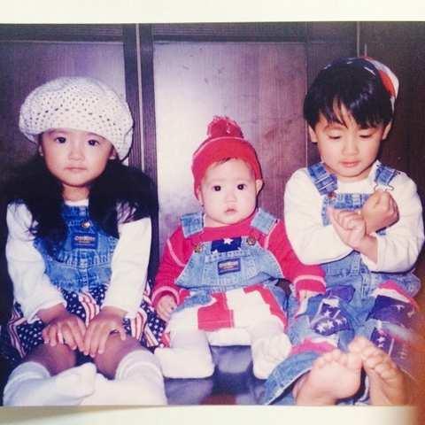 Família Fujii - Respectivamente: Shuuka, Karen & Ryuusei.